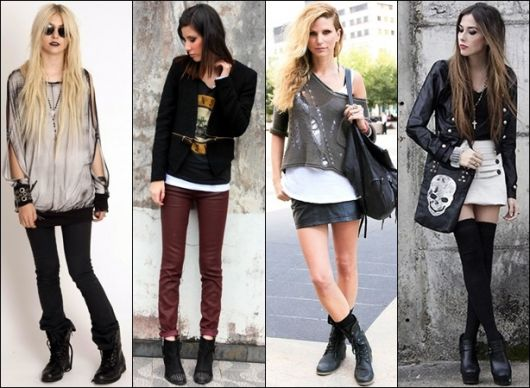 4 looks baseados no glam rock
