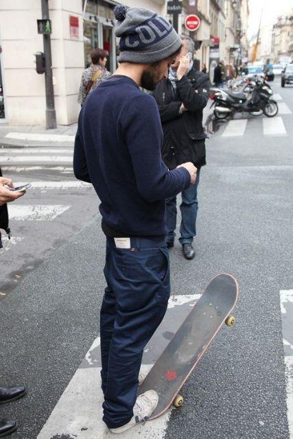 como usar estilo skatista