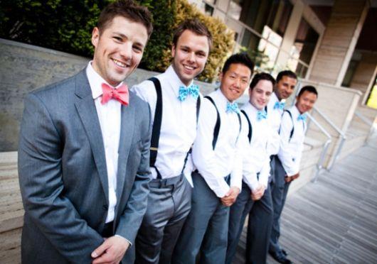 como usar gravata na formatura