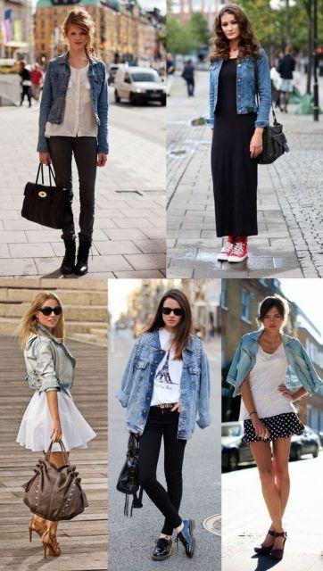 como usar jaqueta jeans - Dicas gerais