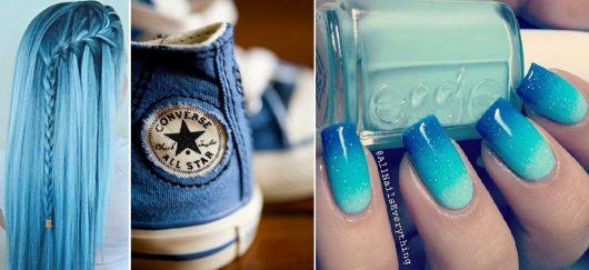 cores da moda 8 tipos de azul