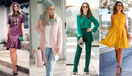 cores da moda todas as cores
