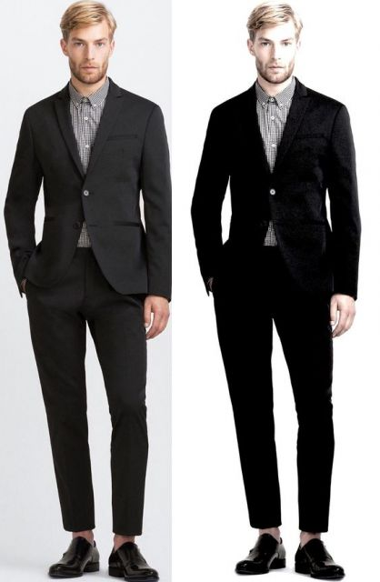 dicas para usar terno sem gravata