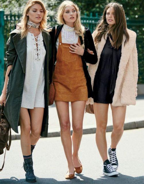 estilo boho casacos