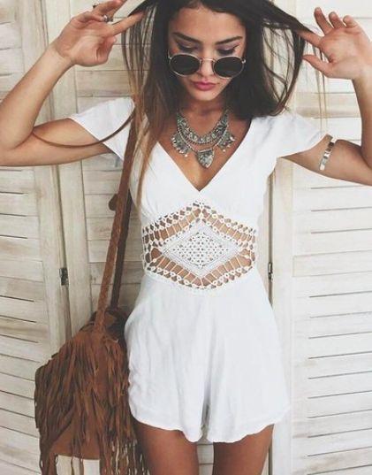 estilo boho roupa branca
