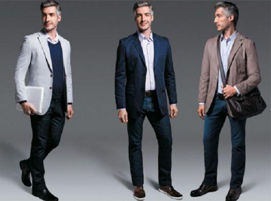 estilo casual com terno sem gravata