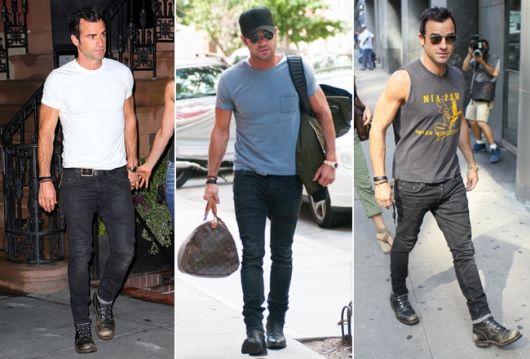 estilo casual masculino bota