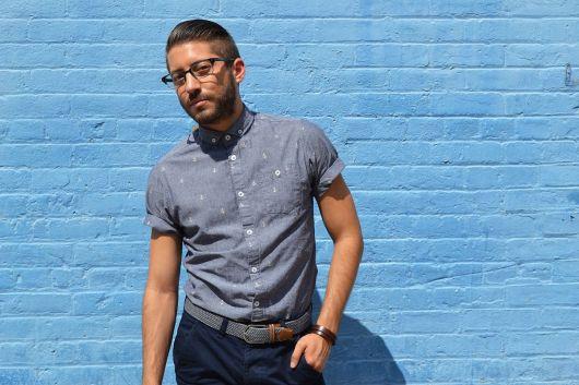 estilo casual masculino camisa