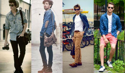 estilo casual masculino jeans