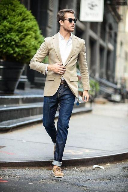 estilo casual masculino mocassim