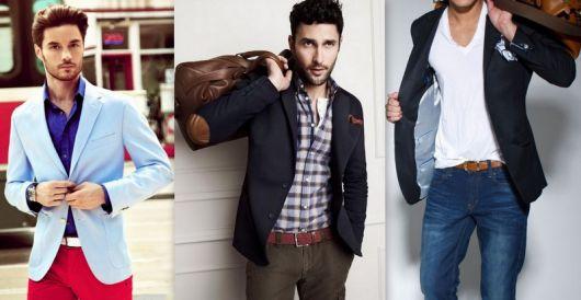 estilo casual masculino paletó