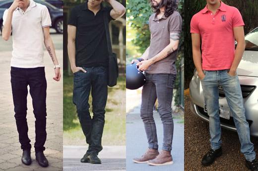 estilo casual masculino polo