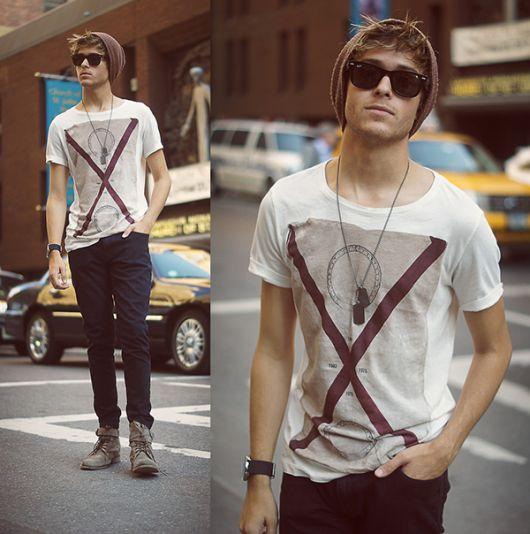estilo casual skinny