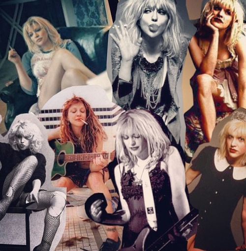 estilo grunge courtney love
