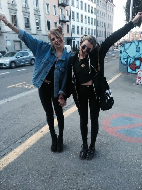 estilo grunge jaquetas