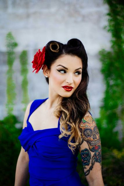 cabelo estilo pin up fashion