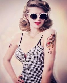 o que é o estilo pin up