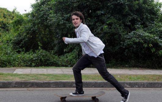 estilo skatista masculino básico