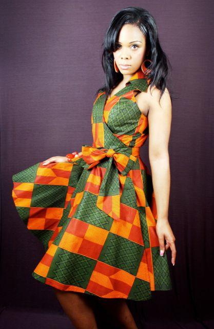 moda africana com estampas