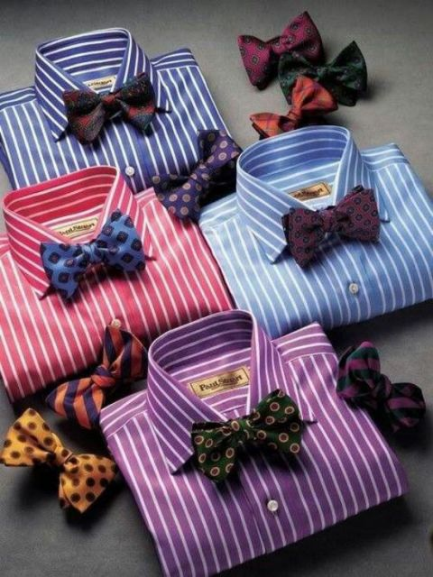 gravata e camisa social