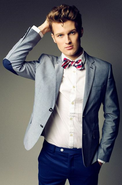 gravata na formatura como usar