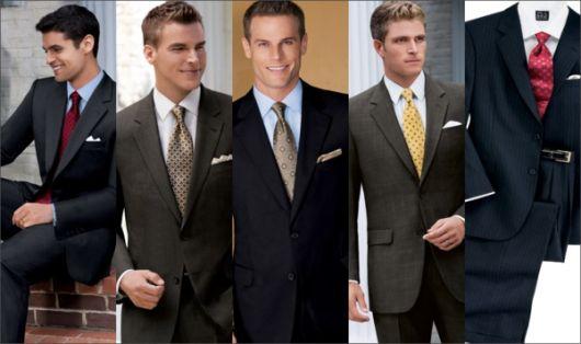 gravatas diferentes look social
