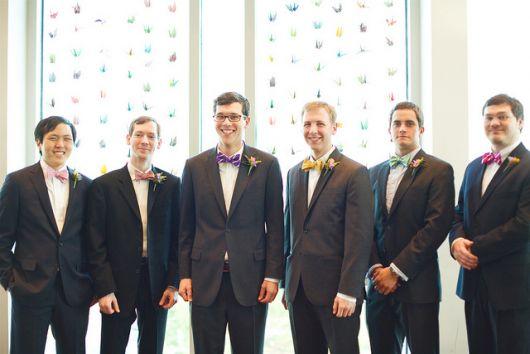 gravatas para padrinhos borboleta destaque