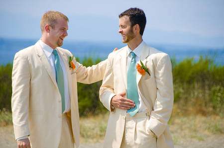 gravatas para padrinhos larga e clássica