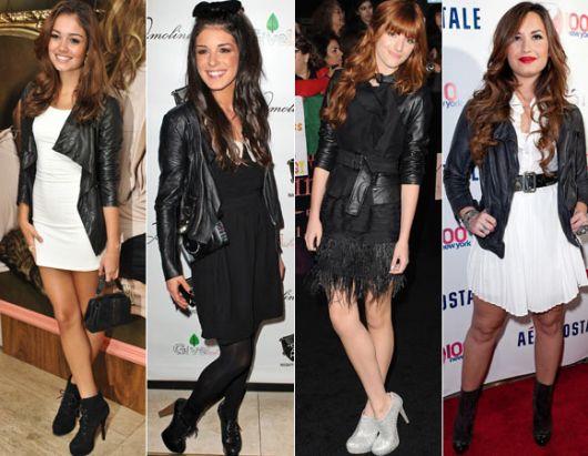 jaqueta de couro 16 famosas