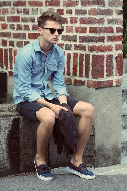 jeans e bermuda