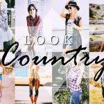 LOOK COUNTRY: Inspire-se com 60 Looks Incríveis!