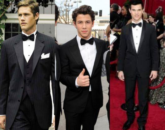 look gala com gravata