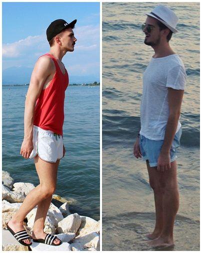 look moda praia masculina