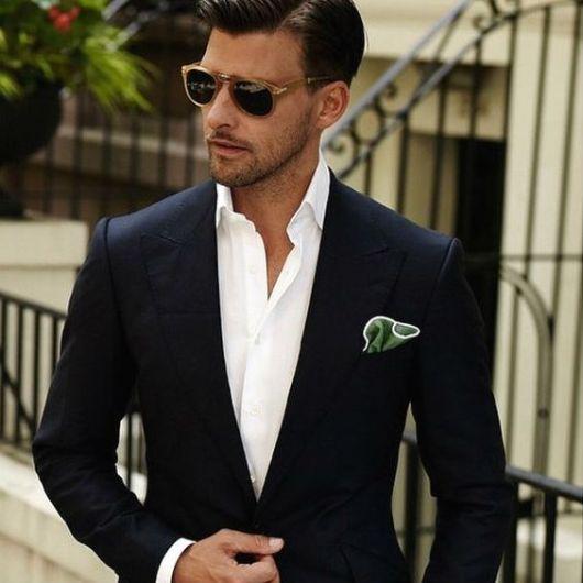 look terno sem gravata