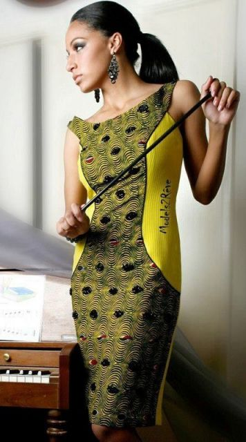 moda africana vestido