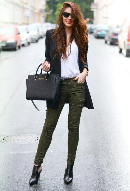 exemplo de looks com blazer elegantes