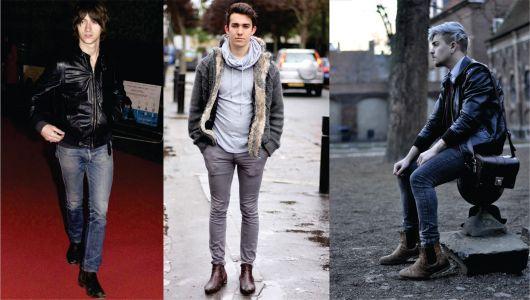 looks com chelsea boots