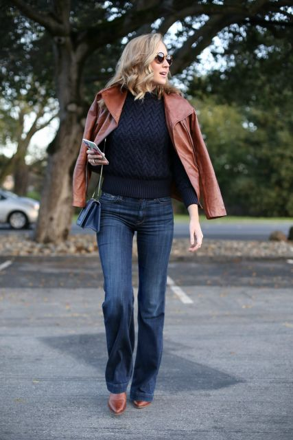 jeans em looks para shopping inverno