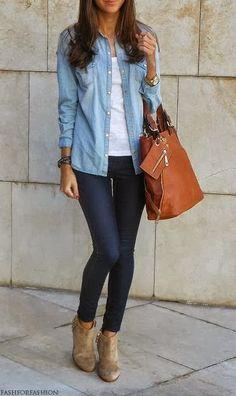 look para ir ao shopping com jeans e bota cano curto