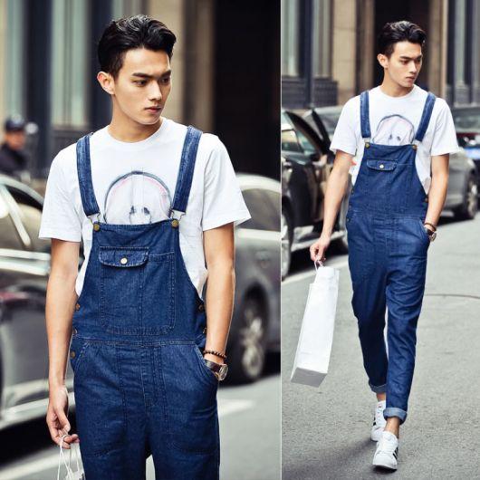 macacão jeans look