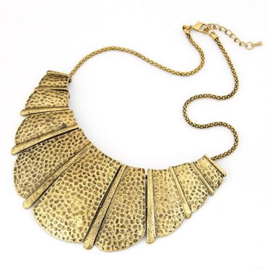 maxi colar ouro velho