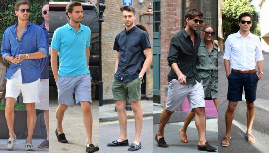 mocassim masculino com camisa
