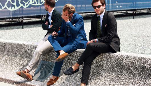 mocassim-masculino com roupa social
