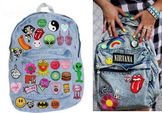 Resultado de imagem para customização de mochila