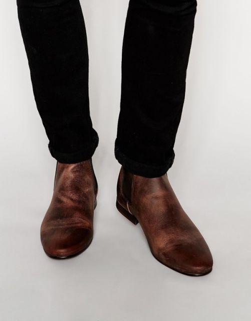 modelo de chelsea boot