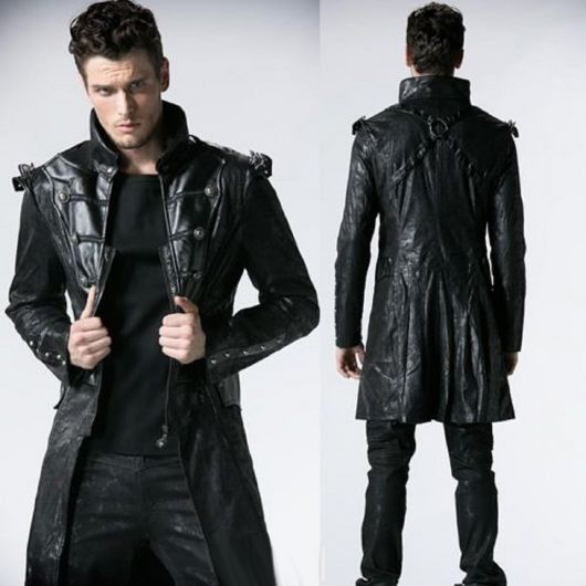 Winter Coat Fashion Black
