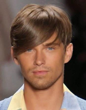 penteado com franja
