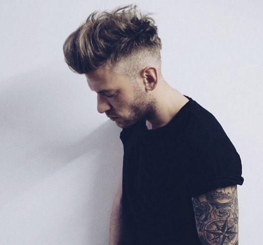 penteado inspirado justin bieber