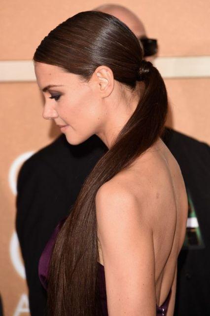 cabelo longo e liso