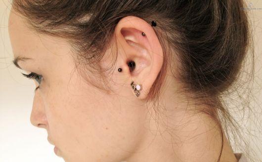 piercing no tragus pontinhio